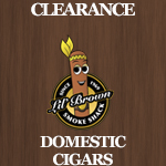 Clearance Domestic Cigars