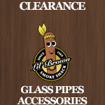 Clearance Glass Pipes Acc
