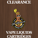 Clearance Vape Liquids Cart