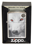 ZIPPO 28877 Wolf With Red Eyes