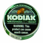 KODIAK Wintergreen Can