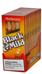 BLACK-MILD WoodTip Jazz 10/5