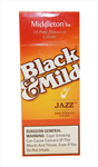 BLACK-MILD WoodTip Jazz Upr 25