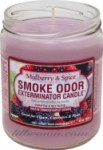 SMOKE ODOR Candle Mulberry
