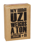 MY UZI WEIGHS A TON 5.5x52 10c