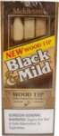 BLACK-MILD Wood Tip 10/5pk