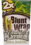 BLUNT WRAP AppleMartini 25/2pk