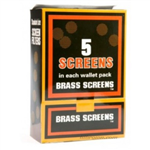 PIPE SCREENS Brass 100ct
