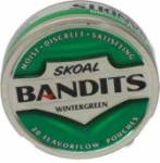 SKOAL Bandit Wintergreen Can