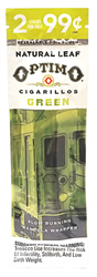 OPTIMO 2/.99 Cig Green Po*