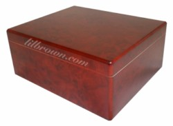 ORLEANS 3003 Burl Humidor 25ct