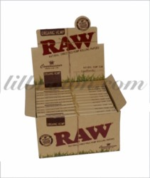 RAW Organic King Con W/Tip 24c