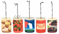 SMOKE ODOR Car Jar Clothesline